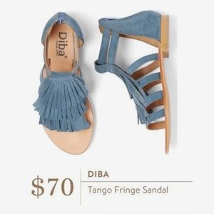 Stitch Fix Diba Tango Fringe Sandal